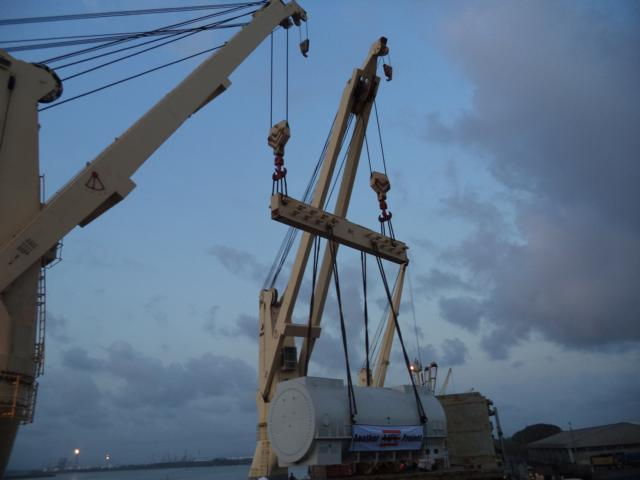 Discharging Survey Project Cargo