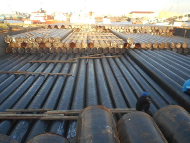 Loading survey of Steel pipe